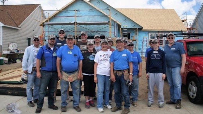 Habitat for Humanity Workers