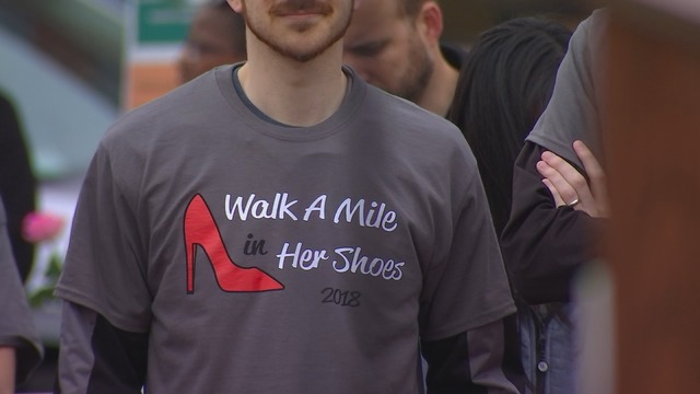 Walk a Mile in Her Shoes Anoka 2018
