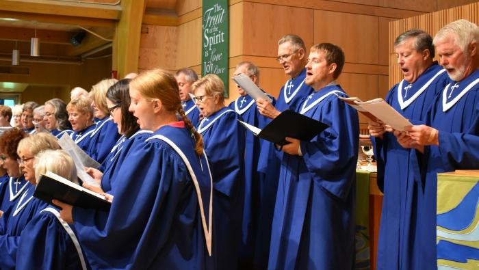 Summer Impromptu Choir
