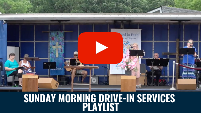 Sunday Morning Drive-In Services Playlist